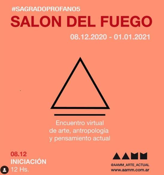 SAGRADO / PROFANO  #SalónDelFuego