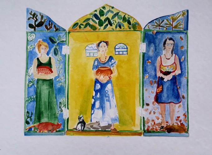 Detener el tiempo -  futuros retablos del ParaguayMaria Bressanello